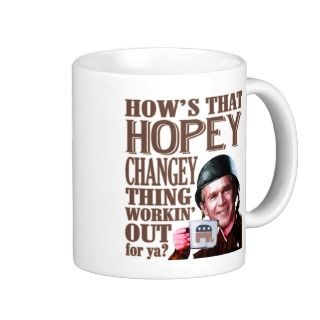 Hopey Changey Thing George Bush Mug