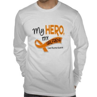 MS Multiple Sclerosis MY HERO MY GIRLFRIEND 42 Shirts