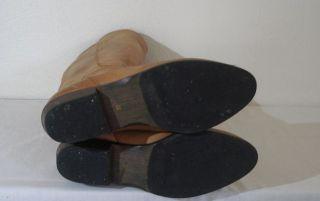 Vintage Traum Lederstiefel 39 Boho ReiterBoots VOLL LEDER Blogger