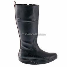 MBT Tenga High Schwarz Black Damen Stiefel boots Stivali Leder women