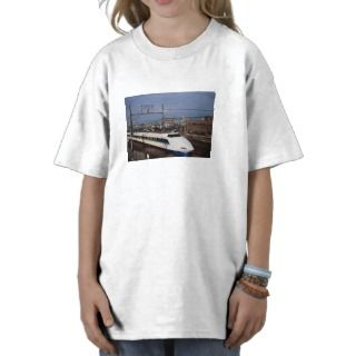 The Shinkansen or Bullet Train, Kyoto, Japan Tee Shirts