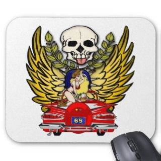 Vintage Car 65th Birthday Gifts Mousepad