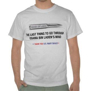 Osama bin Laden US Navy Seals Bullet T Shirt