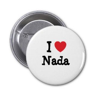 love Nada heart T Shirt Pin