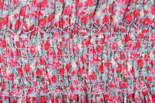 Sommerkleid Maxikleid Rock Strand Kleid Bohemian BoHo XS S M L Floral