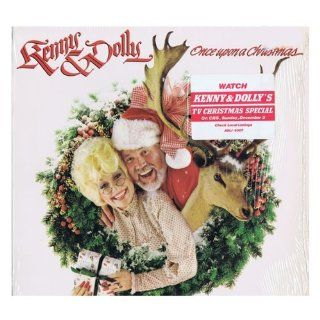 KENNY ROGERS & DOLLY PARTON   once upon a christmas RCA 15307 (LP