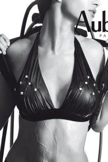 Triangel Bikini Oberteil Gr. 36 Aubade Gold Lover 36 Bademode schwarz