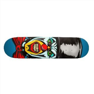 Foul Evil Clown Skate Deck