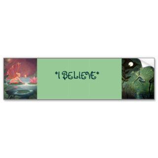 Believe Fairy Bumper Sticker