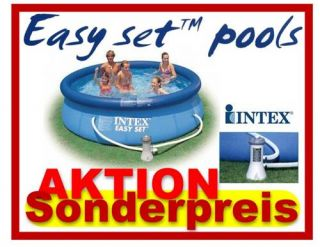 Intex Easy Set Quick Up Pool 244 x 76 cm Schwimmbecken Komplettset