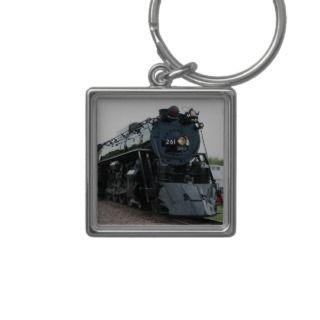 Steam Locomotive Keychain