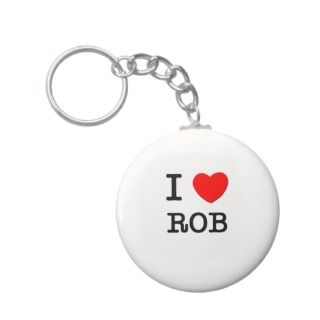Love Rob Key Chains