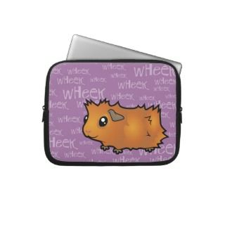 Nosiy Guinea Pig (scruffy) Computer Sleeves