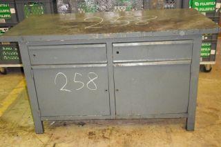 Profi metall werkbank werktisch mit lochwand 155 cm for Werkbank unterschrank