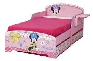 Minnie Mouse Toddler MDF Bed with Storage Drawers Kleinkind MDF Bett