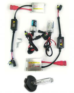 HID XENON CONVERSION SLIM BALLAST BULBS KIT H7 8000K