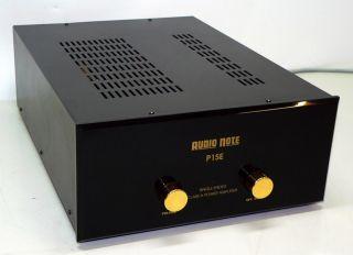 P1 SE High End Stereo Röhren Endstufe Class A   TUBE AMP (246)