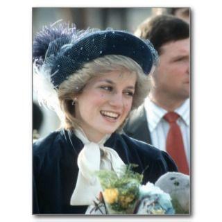 No.98 Princess Diana Wantage 1983 Post Card