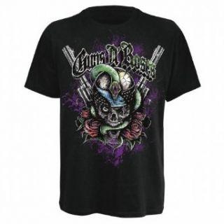 Bravado Herren T Shirt Guns N Roses   Skull & Snake