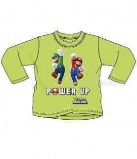 Super Mario ~ trendiges ~ LA Shirt ~ grün ~ Größe 98   140