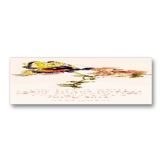 Fairy Tale Kiss Bookmark Business Card Templates