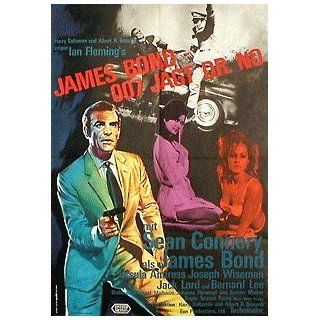 James Bond 007 jagt Dr. No (1962) / Filmplakat Poster