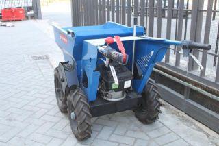 Motocarriola MUCK TRUCK a ruote mot HONDA dumper 250 KG mini