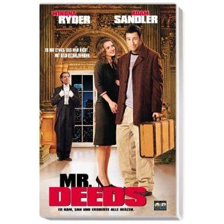 Mr. Deeds [VHS] Adam SandlerWinona Ryder, Steven Brill