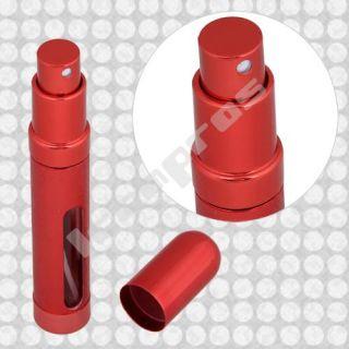 4X Farbig Parfum Zerstäuber Alu Parfümzerstäuber Leer
