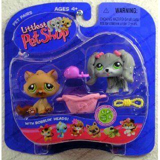 Littlest Pet Shop   Pet Pairs   2Pack   Hund LPS 193 & Katze mit Maus