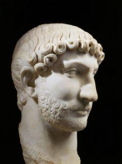 Hadrian, 76 138 AD Roman Emperor, marble, 117 38 AD Photographic Print