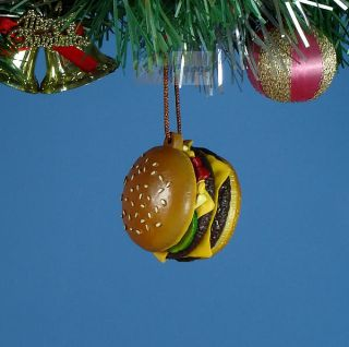 CHRISTBAUMSCHMUCK M3 Home Party Weihnachten McDonalds Quarter Pounder