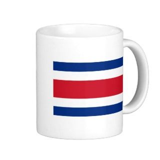 Costa Rica, Costa Rica flag Coffee Mug