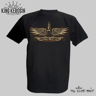 King Kerosin T Shirt   Rock n Roll Gearhead