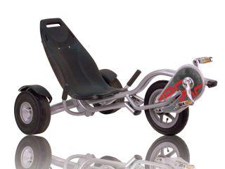 Triker Pro 100 silber silver Gokart/Balancebike/Dreirad