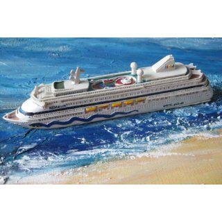 Schiffsmodell Aidaaura Miniatur Boot Schiff AIDA Aura: