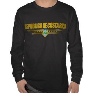 Costa Rica Pride Apparel T shirt