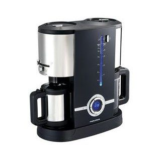 Morphy Richards 47064 Fusion Latitude Kaffeemaschine Edelstahl 1350
