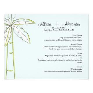 Wedding Invitations, 1,400+ Palm Tree Wedding Announcements & Invites