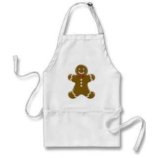 Gingerbread Man Apron