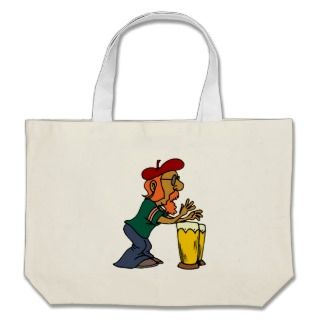 Bongo Drums Canvas Bag
