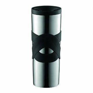 BODUM Travel Mug 0, 35 l schwarzEdelstahl, doppelwandig