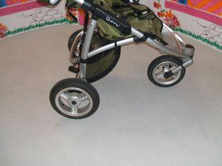 Quinny Speedi SX Kinderwagen/Jogger, Olive green,grün~