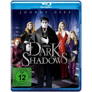 Dark Shadows [Blu ray] (2012) In der Hauptrolle Johnny Depp, Michelle
