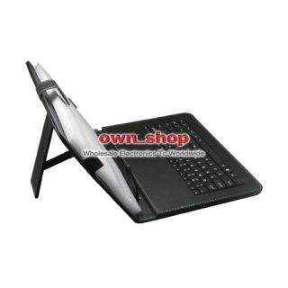 Leather Case Stand With Keyboard For 10 Zenithink ZT280 C91 ZT180
