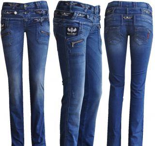Cipo & Baxx Sexy Damen Jeans Hose 3 Bund Jeans CBW 282