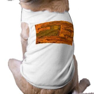 Circuit Board Pattern 5 Dog Tshirt
