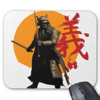 Samurai Warrior Mousepad