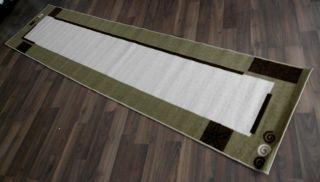 Brücke Teppich Läufer 67x270 cm beige UVP69,99 296