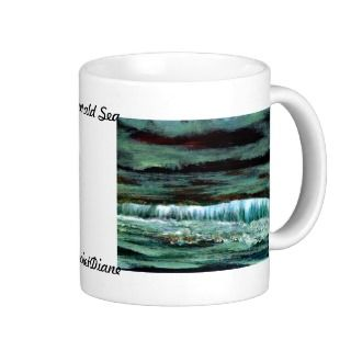 Emerald Sea CricketDiane Kitchen Decor Coffee Mug